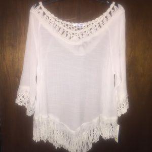 Nygard boho hippie blouse